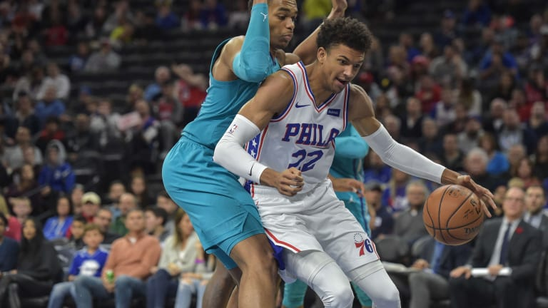 Sixers' Rookie Matisse Thybulle Slowly Easing His Way Back In