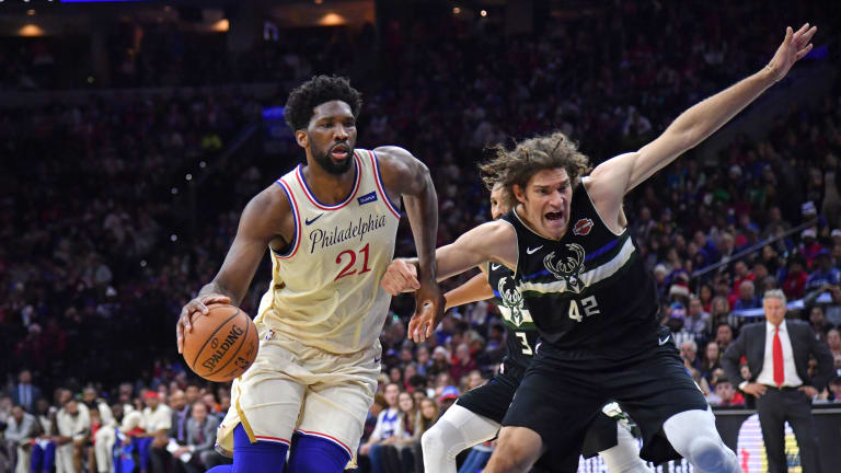 Joel Embiid Is Taking a Conservative Approach This Season