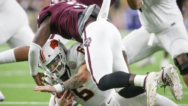 Defensive Line Excels in Texas Bowl Victory