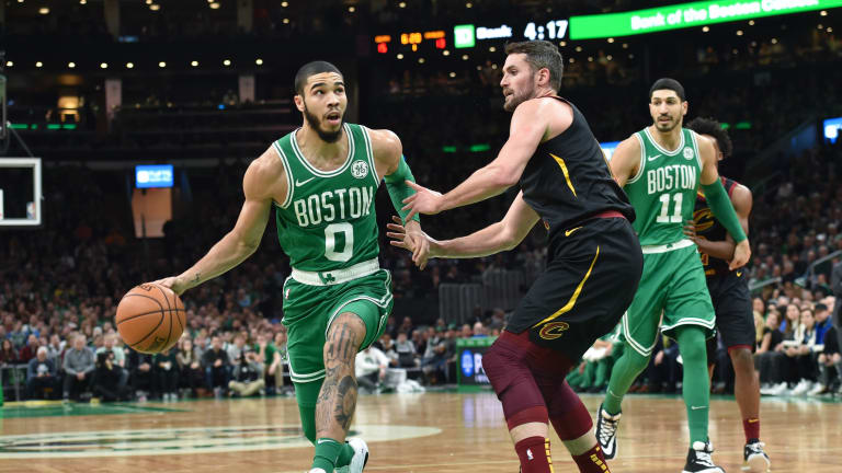 Dribbles: Again, Cavs Mostly Helpless Against Contending Celtics