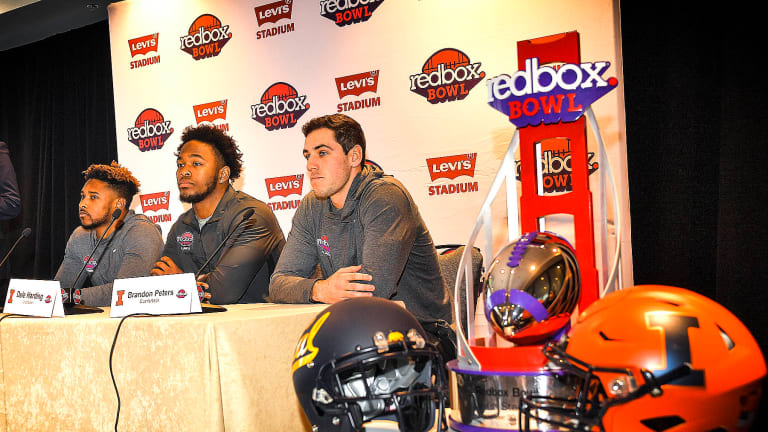 Illini QB Brandon Peters 'ready to go' For Redbox Bowl