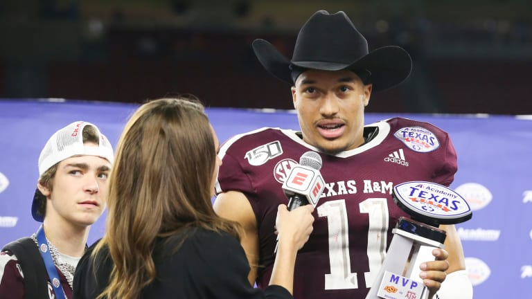 Mond Magic: How Kellen Mond Became The Lone Ranger in the Texas Bowl