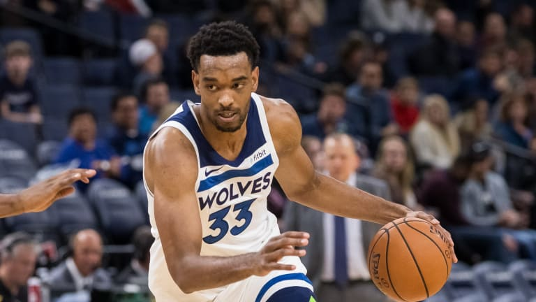 Ex-Ohio State standout Bates-Diop finally getting to run with Wolves