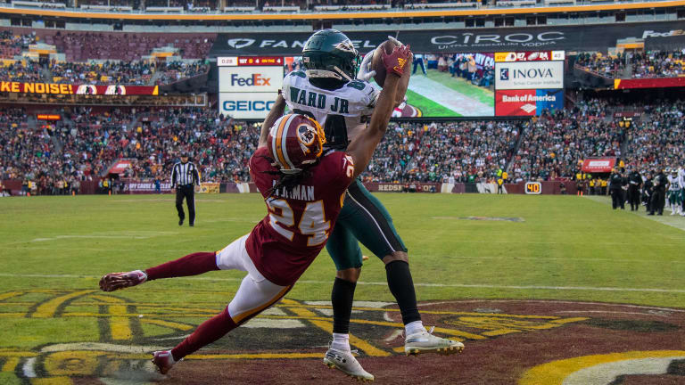 Norman OUT for his Final Game with the Redskins