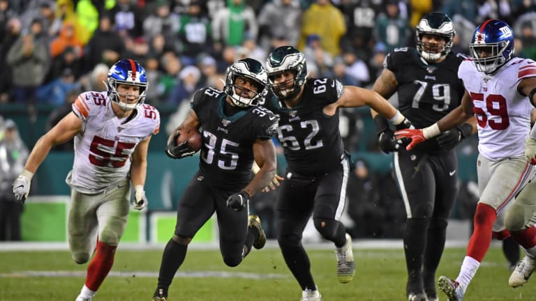 By the Numbers Week 17 | Eagles at Giants