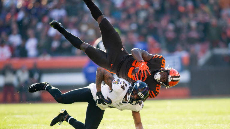 Ravens Ink CB Marcus Peters to Extension