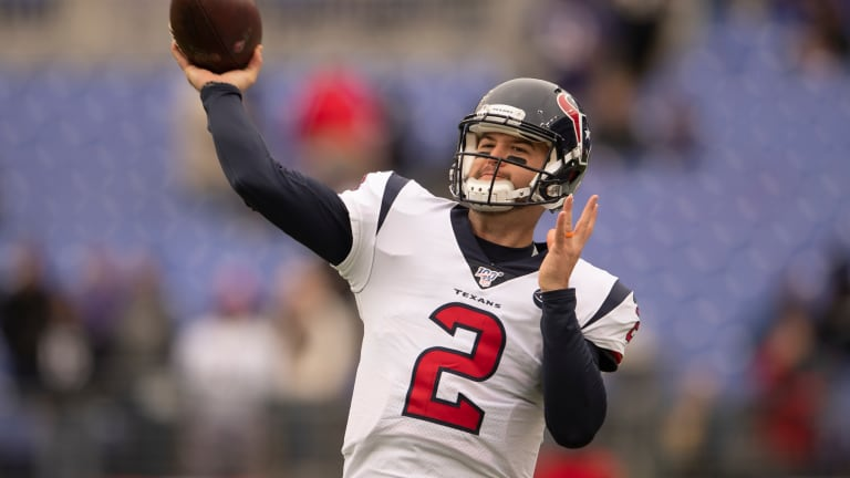 A.J. McCarron Expected to Start In Regular Season Finale for the Texans