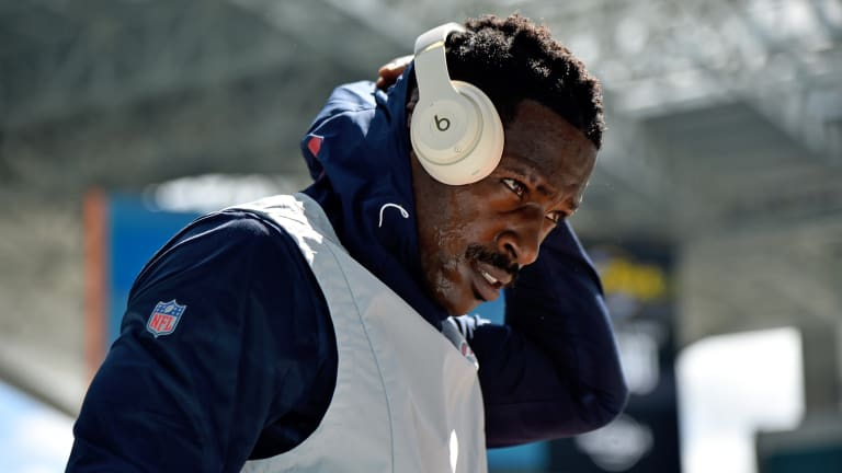 Report: Antonio Brown Impresses Saints in Workout But Unlikely to Play in 2019