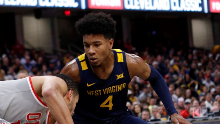 No. 22 West Virginia Knocks of Second-Ranked Ohio State