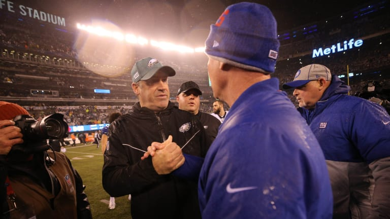 Eagles 34, Giants 17: By the Numbers