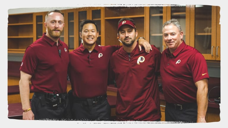 Training Staff Changes for Redskins