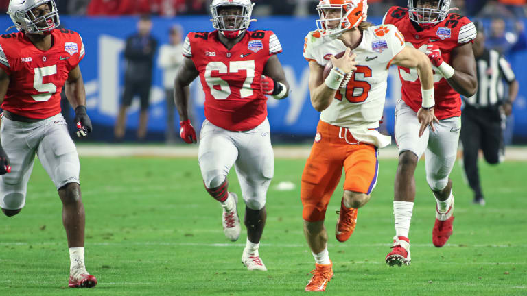 Lawrence's Legs Have Become Major Weapon for Clemson