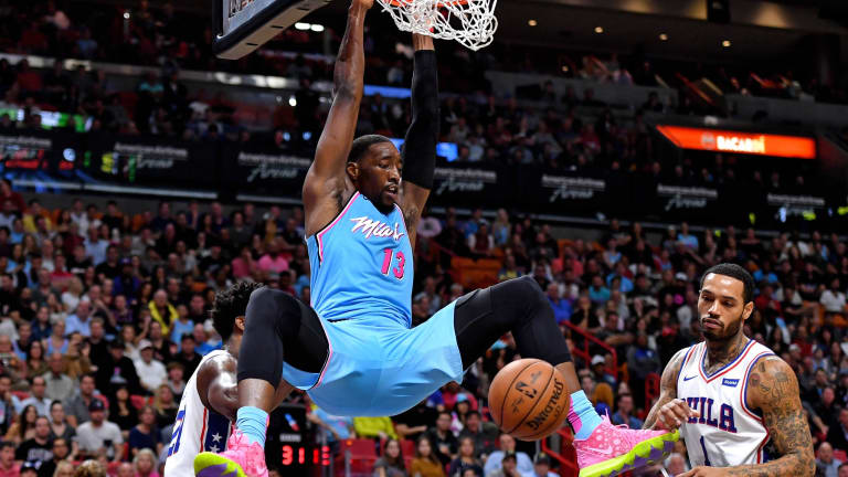 Miami Heat's Bam Adebayo and Sixers' Josh Richardson exchange friendly barbs on social media after dunk