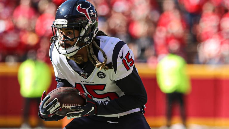 Texans Will Fuller's Health Status Too Early to Gauge For Matchup with the Bills