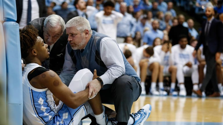 Francis, Tar Heels in No Mood to Celebrate After Harris Injury