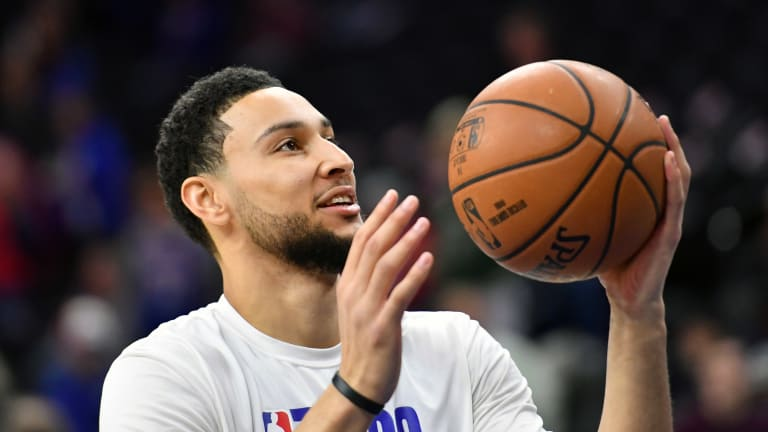 Ben Simmons Not Listed on Injury Report vs. Pacers