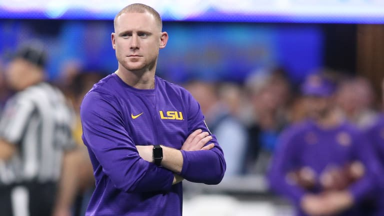 Ed Orgeron Says LSU is 'Close' to Finalizing Contract Extension with Passing Game Coordinator Joe Brady