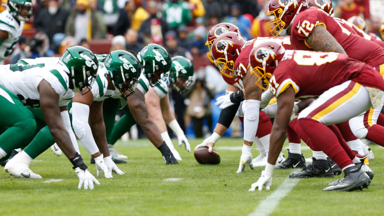 Jets GM Joe Douglas Opens Up On The 'Growing Pains' Of The Offensive Line This Year