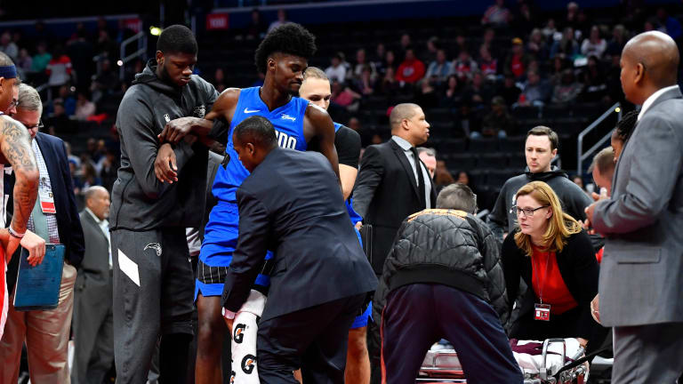 Magic F Jonathan Isaac Out At Least Two Months With Severe Knee Sprain