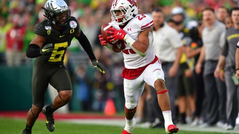 Wisconsin RB Jonathan Taylor Declares for 2020 NFL Draft