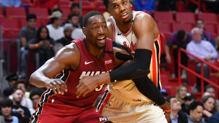 Hassan Whiteside in a comfortable place his first season in Portland after five turbulent years in Miami