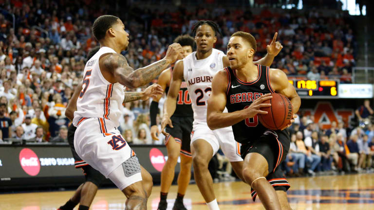 Georgia Basketball Takes Down Tennessee