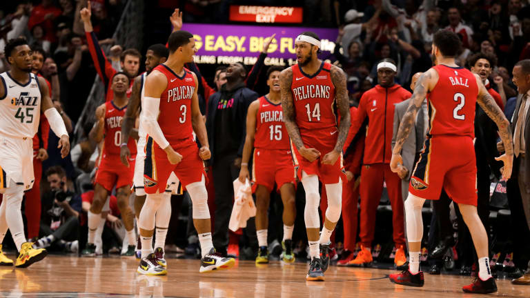 Pelicans F Brandon Ingram Scores Career-High 49 Points in Win Over Jazz