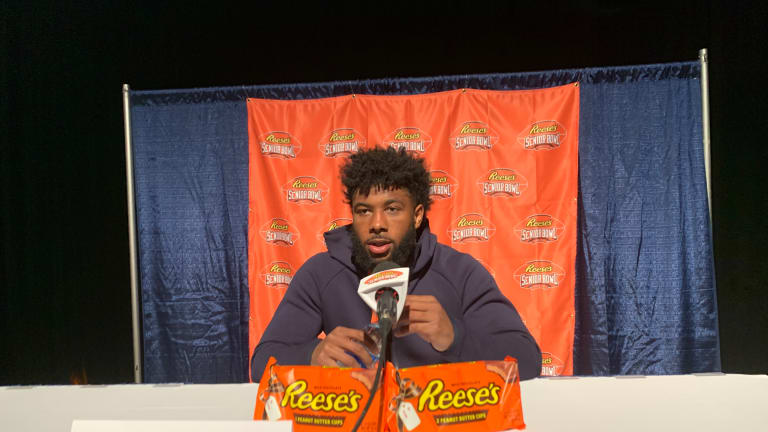 Lamical Perine Is Out to Prove Doubters Wrong, and the Senior Bowl Believes in Him
