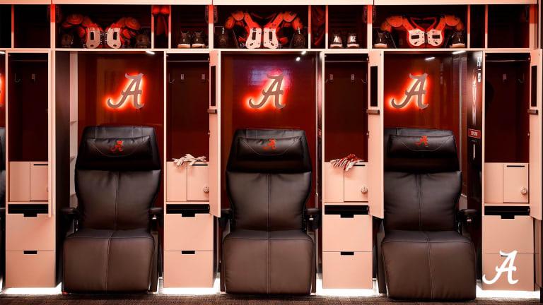 Alabama Football Players React to New Locker Room