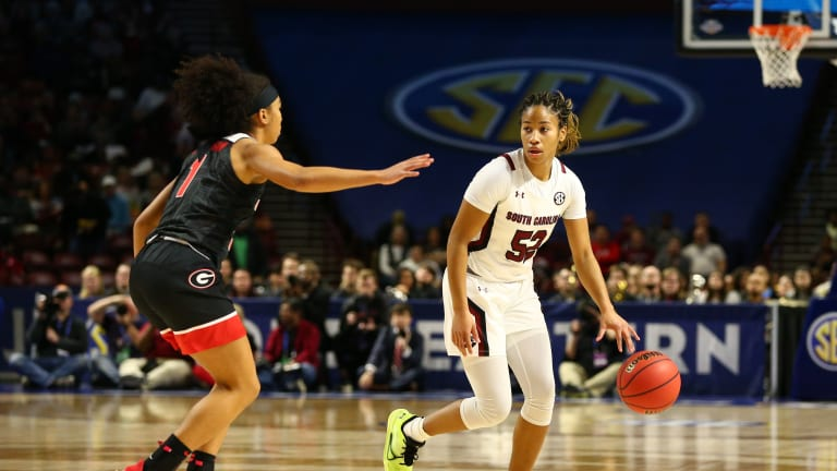Former Gamecock Tyasha Harris Signs With Under Armour