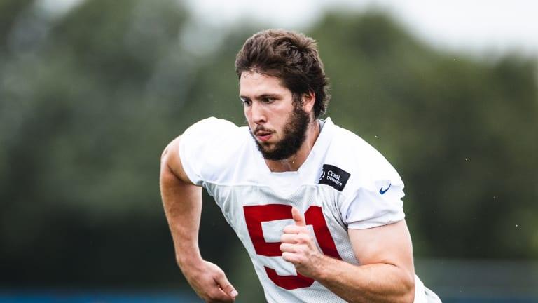 Giants Place Kyler Fackrell on Injured Reserve; Tweak Roster and Practice Squad