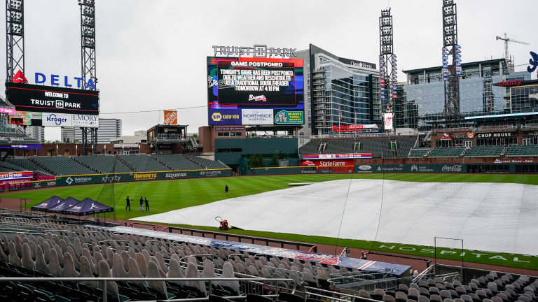 Braves - Yankees rained out