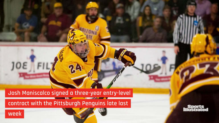 ASU Hockey: Former Devil Signs with the Penguins