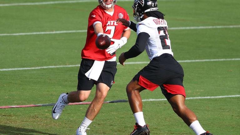 Atlanta Falcons Highlights: Friday Scrimmage At Mercedes-Benz Stadium