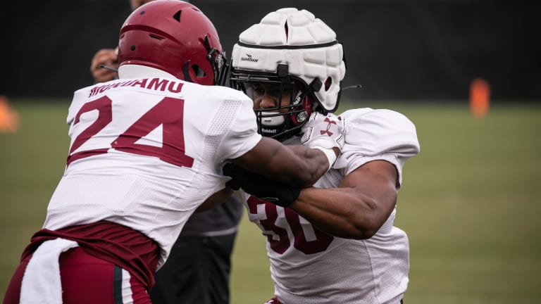 Iron Will Sharpen Iron In Gamecocks' Second Scrimmage