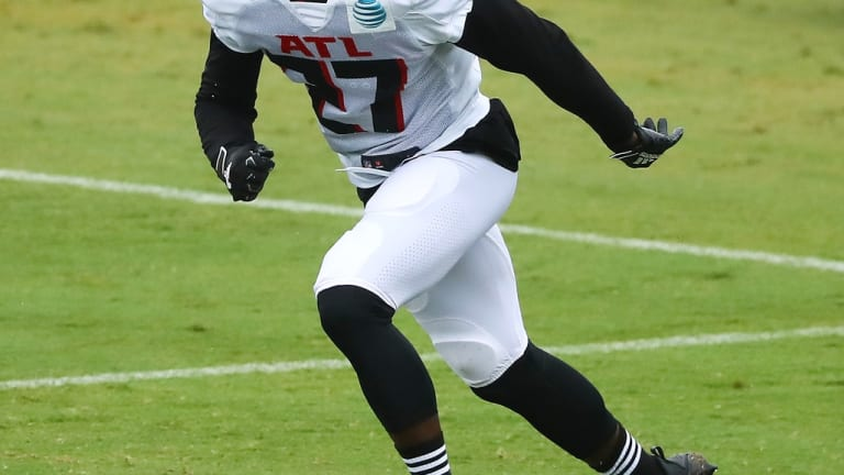Damontae Kazee Is Playing His Role In The Falcons Secondary