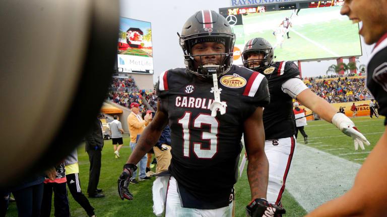 South Carolina's Shi Smith Embracing Role As WR1