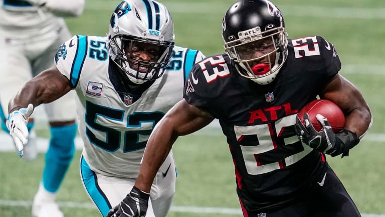 Recap: Falcons Hold on Late, Beat Panthers 25-17