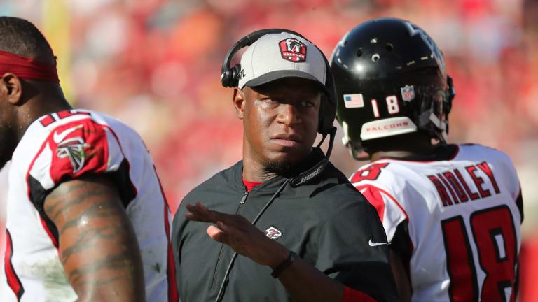 Raheem Morris Named Interim Head Coach for Atlanta Falcons