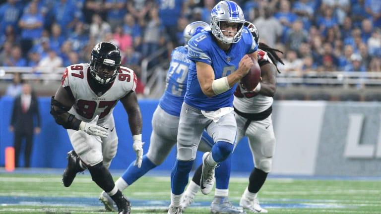 Atlanta Falcons vs. Detroit Lions Game Predictions