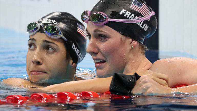 Cal Swimming: Olympic Legend Missy Franklin Can Barely Swim Today - Shoulder Pain