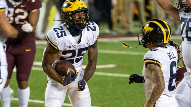 Big Picture: No. 13 Michigan Prepares For Michigan State
