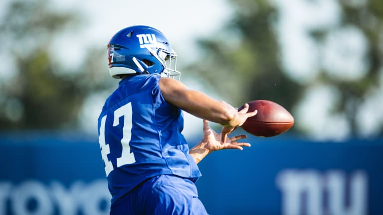 New York Giants Add Two to Practice Squad