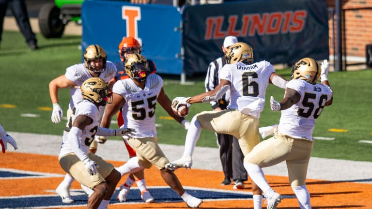 BEATEN & BOILED AGAIN: Purdue Takes Care of Shorthanded Illinois 31-24