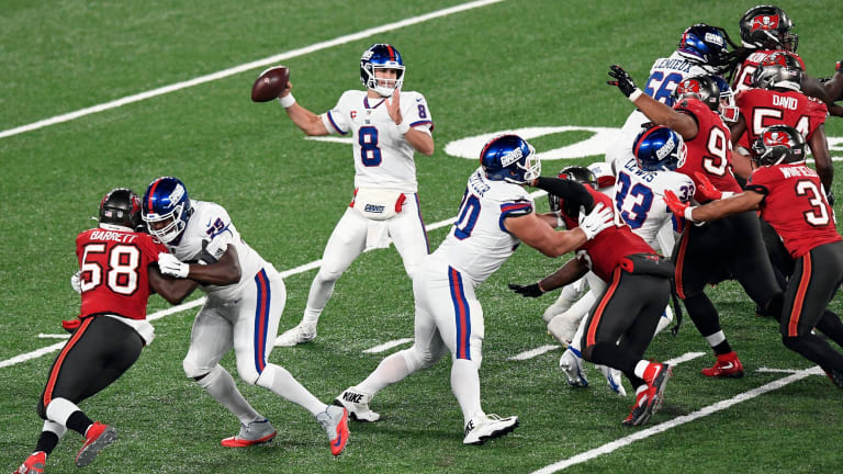 Takeaways from the Giants' 25-23 Loss to Tampa Bay