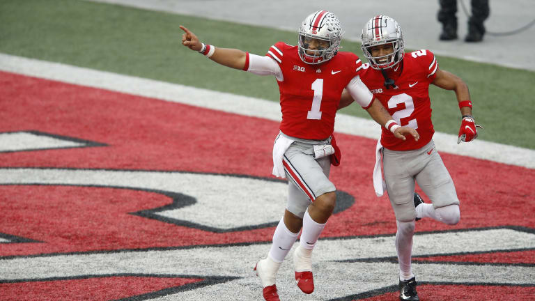 Justin Fields, Ohio State Hang On to Beat Indiana in Huge Big Ten Showdown
