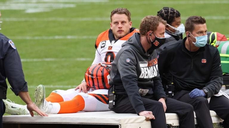 Giants Won't Face Joe Burrow As Quarterback Suffers Knee Injury