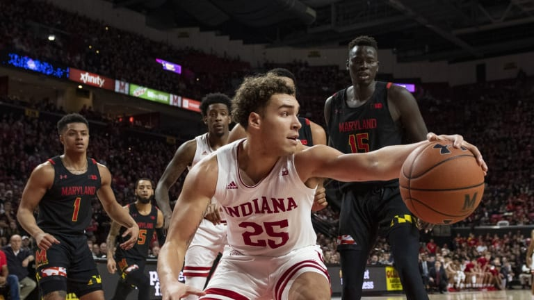 Race Thompson Has Career Day in Indiana's Win Over Providence