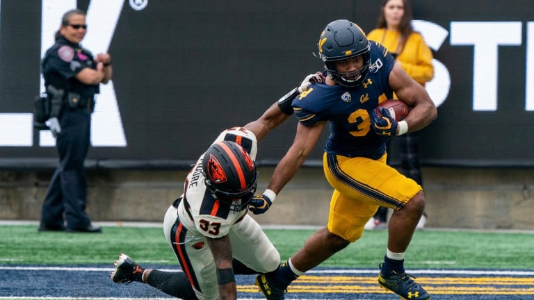 Cal Football: Bears Await Return of Quarantined O-Linemen and RB Christopher Brown