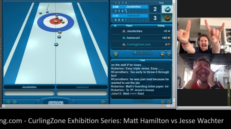 The Best Online Curling App Doesn't Really Have a Name